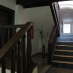 Schodiště k pokojům